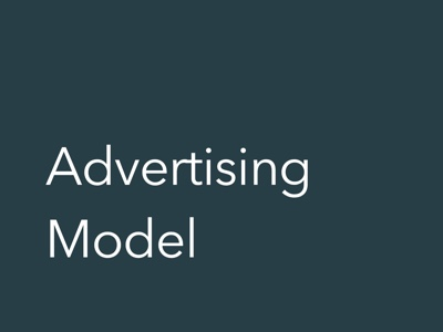 Advertising Financial Model